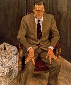 Man in a Chair, 1983-1985 - Lucian Freud