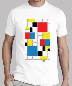 Camisetas Artysmedia - http://www.latostadora.com/artysmedia/mondrien/730960