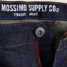 Men's Big & Tall Straight Leg Jeans Michael - Mossimo Supply Co. 48X32
