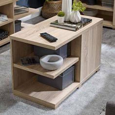 Modern Glass Coffee Table, Stylish Coffee Table, Oak Coffee Table, Coffee Table With Storage, High Quality Furniture, New Furniture, Oslo, Sonoma Oak, Living Room Essentials