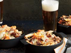 Canadian poutine :: fries topped with spicy pimento cheese, andouille gravy and crawfish, crab or shrimp.Canadian poutine :: fries topped with spicy pimento cheese, andouille gravy and crawfish, crab or shrimp. Cajun Recipes, Wine Recipes, Great Recipes, Cooking Recipes, Cajun Food, Recipe Ideas, Crawfish Recipes, Cajun Cooking, Louisiana Recipes