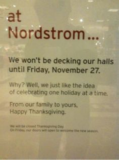 at nordstrom...