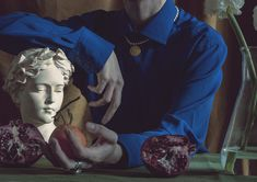 Mara Chevalier - Still Life Portrait Be Still, Still Life, Lucky Number, Stylists, Statue, Portrait, Illustration, Artwork, Photography