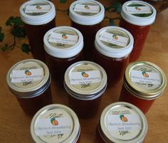 Strawberry Apricot Jam   This Lady's House