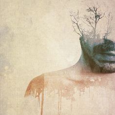 What's Going on Inside? Introspective Portraits in Double Exposure