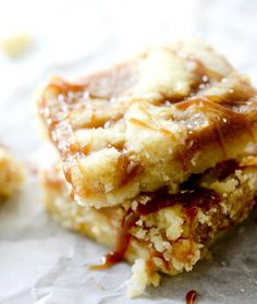 Salted Caramel Butter Bars – Recipe Diaries