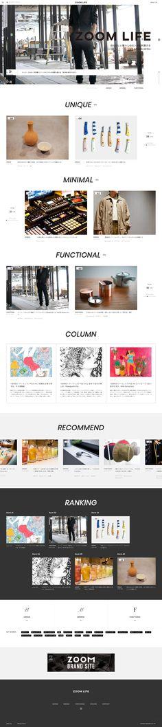 Web Design, Landing, Minimalism, Simple, Life, Design Web, Website Designs, Minimalist, Site Design