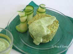 I Tortini di zucchine con salsa allo yogurt sono un piatto leggero e delicato…
