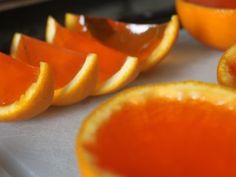 Receta de Gelatina de Naranja