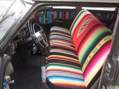 serape Seat covers