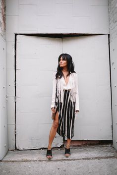    Olivia Lopez of Lust for Life in the Knox Fringe Jacket    Available to buy: http://www.revolveclothing.com