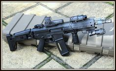 Bushmaster ACR rifle with extras