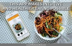 If you want to set healthy eating habits and get into intuitive eating, YouAte is the app for you. And it's totally free!