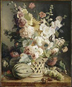 La peinture de Fleurs et Nature morte > La Tour camoufle - Mobilier, objets et tableaux du 18ème et 19ème siècles