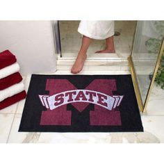 Mississippi State Bulldogs NCAA All-Star Floor Mat (34x45)
