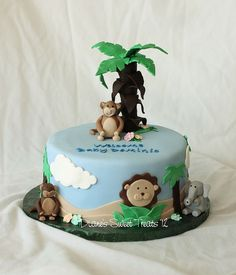 jungle baby shower cake | Flickr - Photo Sharing!