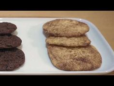 3 easy cookie, what you can bake in 15 minutes. Only from simple ingredients. Brownie cookie is perfect for chocolate lovers, Snickerdoodles is the best cook. Chocolate Mix, Chocolate Lovers, Melting Chocolate, Brownie Cookies, Chocolate Chip Cookies, Cookie Videos, Vanilla Sugar, Cookies Ingredients, Fun Cooking