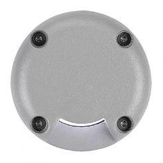 Abdeckung für LED PLOT ROUND, 1 Beam, silbergrau / LED24-LED Shop