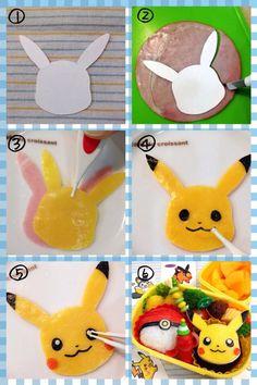 How to make pikachu
