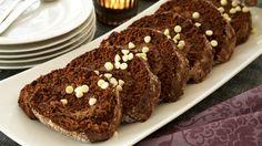 MatPrat - Sjokoladerullekake med hasselnøtter og espresso