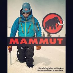 Are you fierce enough for next level of a fan? #Mammut forever!
