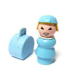 Fisher Price Little People Air Stewardess Jouets Fisher Price, Fisher Price Toys, Vintage Fisher Price, 1970s Toys, Retro Toys, Vintage Toys, Antique Toys, Vintage Stuff, 1970s Childhood