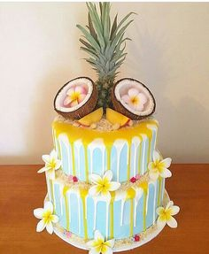 S Hawaii Cake, Pineapple, Fruit, Desserts, 18th, Cakes, Food, Meet, Tailgate Desserts
