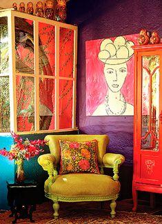 Conheça o estilo étnico de decorar
