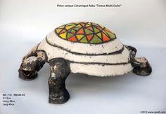 Tortues Multi Color Pièce unique #céramique #raku  Pour plus de détails contactez site web :www.cpadt.com mail :contact.cpadt@yahoo.com  Tél : 00 33 (0) 1 85 76 08 42 Tous les produits disponibles N'hésitez pas à commander dés maintenant