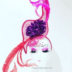https://www.etsy.com/hk-en/listing/237615791/red-purple-with-shoking-pink-party Bright colors Unique fascinator, best for royal ascot wearing ❤️ This hats had been featured on the wedding magazine.  EASTER SALES are on NOW!! Hey friends, EASTER is cl
