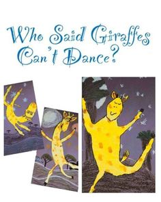 """Who Said Giraffes Can't Dance?"" We certainly didn't! http://www.artsandactivities.com/Itworksart/itwks75pdf/A090228.pdf"