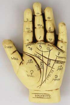 Palmistry HandPalmistry Reading Divination Tool by ReikiRisingArts