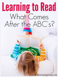 Learn to Read: What Comes After the ABCs ~ Next steps, practical activities and free printables from a reading specialist | This Reading Mama