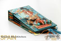 Summer Album Voyage Beneath the Sea by Marina Blaukitchen Product by Graphic 45…