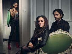 Simona Brown as (Roz), Daisy Head as (Grace) and Zachary Fall as (Luc) #Guilt