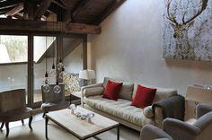 con3studio architetti - progetto appartamento montagna