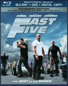 Fast Five Blu-ray Disc 025192107191 Front