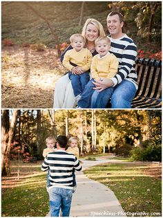Twins and family photo shoot