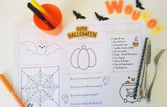 Anglais au primaire on pinterest english vocabulary esl and worksheets - Deco halloween enfant ...