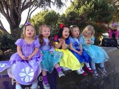 These beautiful princesses have down syndrome and are just too precious!