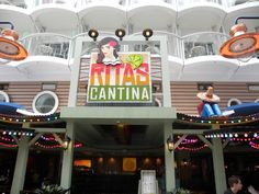 Allure of the Seas - Rita's Cantina Mexican Restaurant - Allure of the Seas (c) Linda Garrison Cruise Travel, Cruise Vacation, Vacation Trips, Vacation Travel, Vacations, Cruise Tips Royal Caribbean, Hawaiian Cruises, Great Vacation Spots, Cozumel Mexico