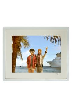 Hand-Signed Barbie and Ken Cruise Time Framed Print by Barbie and Ken on @HauteLook. Artist: David Parise