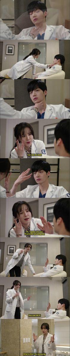 'Blood' starring Ahn Jae Hyun and Goo Hye Sun. Loved this part:)
