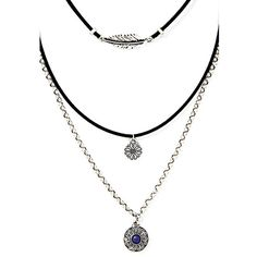 Yoins Fashion Adjustable Threeply Design Necklace ($8.16) ❤ liked on Polyvore featuring jewelry, necklaces, yoins, choker pendant necklace, layered jewelry, choker pendants, multi layer necklace and pendant necklace