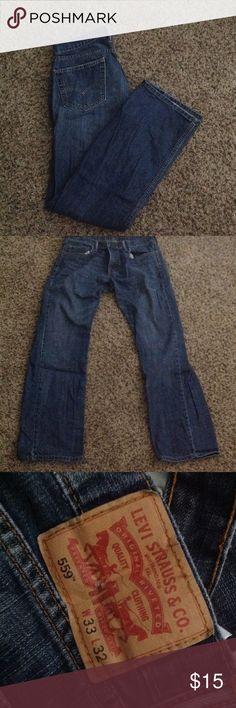 Like new Levi mens jeans Like new bootcut mens Levi's 33x32 Levi's Pants