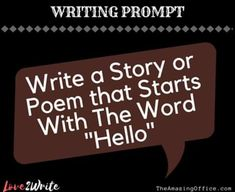 Poetry Prompts, Dialogue Prompts, Story Prompts, Writing Poetry, Writing Help, Writing Ideas, Writing Inspiration, Creative Writing, Writing Prompts