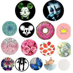 Fashion Cute Round POP Phone Holder for Iphone 7 6 phone Support Mobile Phone Stand For Huawei Lite Best Mobile Phone, Best Cell Phone, Mobile Phone Cases, Samsung Mobile, Iphone 7, Cute Popsockets, Diy Pop Socket, Accessoires Iphone, Cell Phone Plans