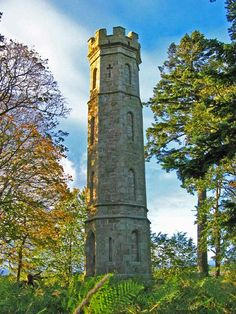 Keith's Tower To be replanted in April 2012. Local collaboration for Queen Elizabeth's Golden Jubilee will include planting by the community.