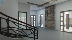 Modern Lobby Design Idea by Team AAA