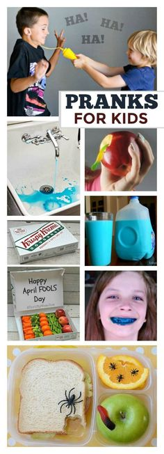 30 HILARIOUS PRANKS TO PLAY ON KIDS (great for April Fools or any day!) #aprilfools #pranksforkids